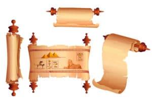papiro egipto antiguo reflexologia podal