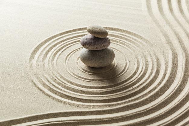 Jardín Zen, una de las practicas de estado presente