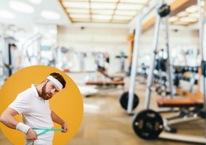 El gimnasio no es la solución para bajar y mantenerse en ese peso.