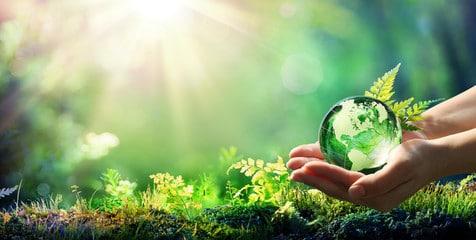 planeta tierra verde
